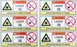 警告标识不干胶标签